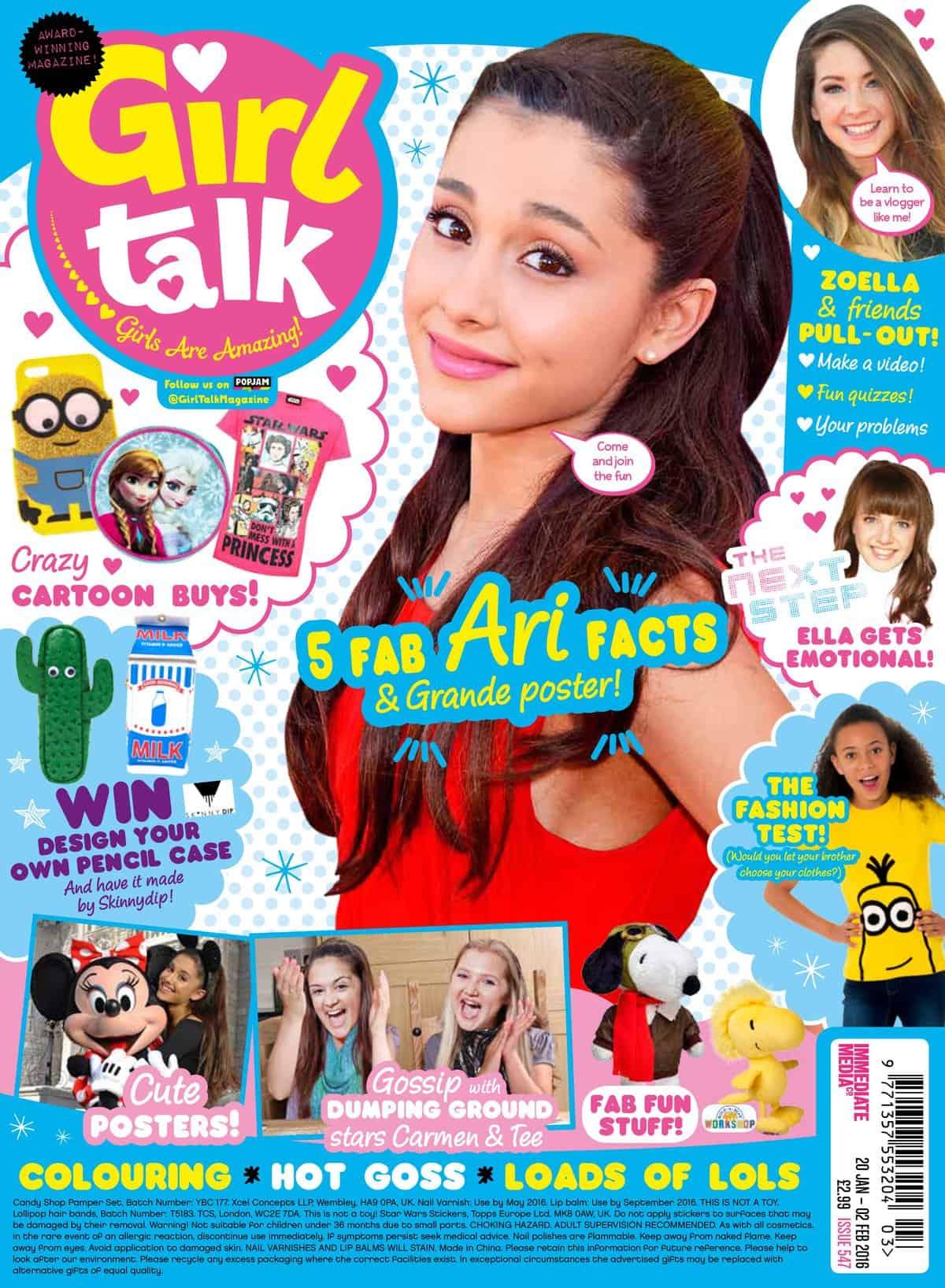 How Embarrassing With Girl Talk Magazine Fun Kids
