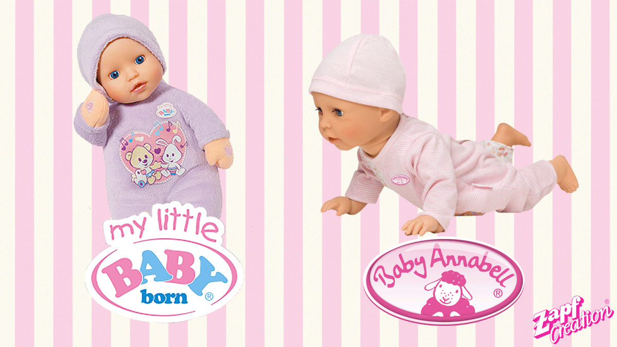 feea537abc8 Check out these new my little BABY Born® and Baby Annabel® dolls ...