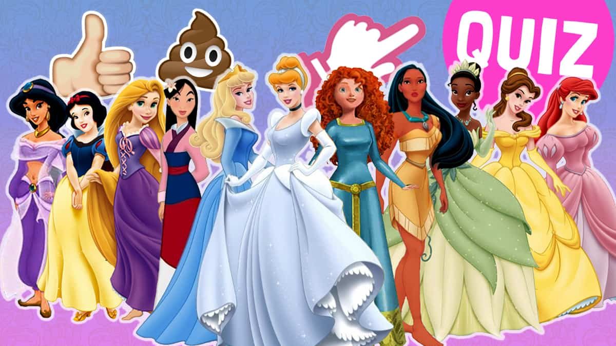 the disney princess quiz