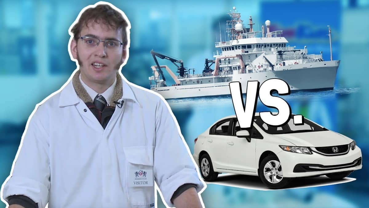 Why can't ships travel as fast as cars? - Fun Kids - the ...