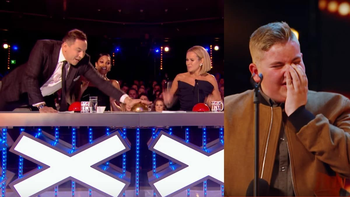 David Walliams presses Golden Buzzer on Britain's Got Talent 2017