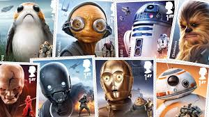 Royal Mail Announces New Line Of Star Wars Inspired Stamps