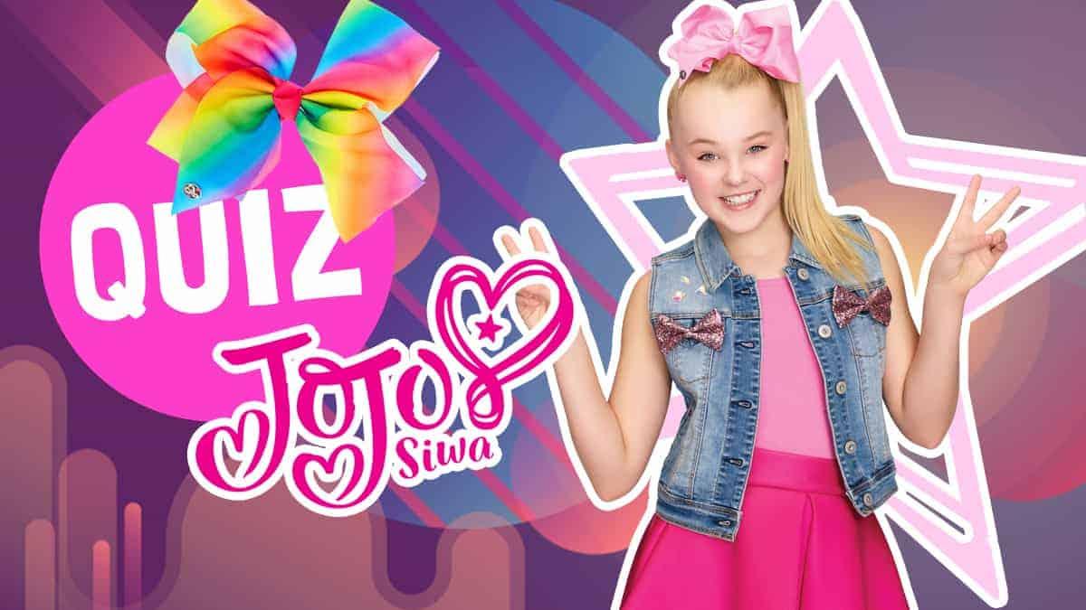 Quiz How Well Do You Know Jojo Siwa Fun Kids The Uk