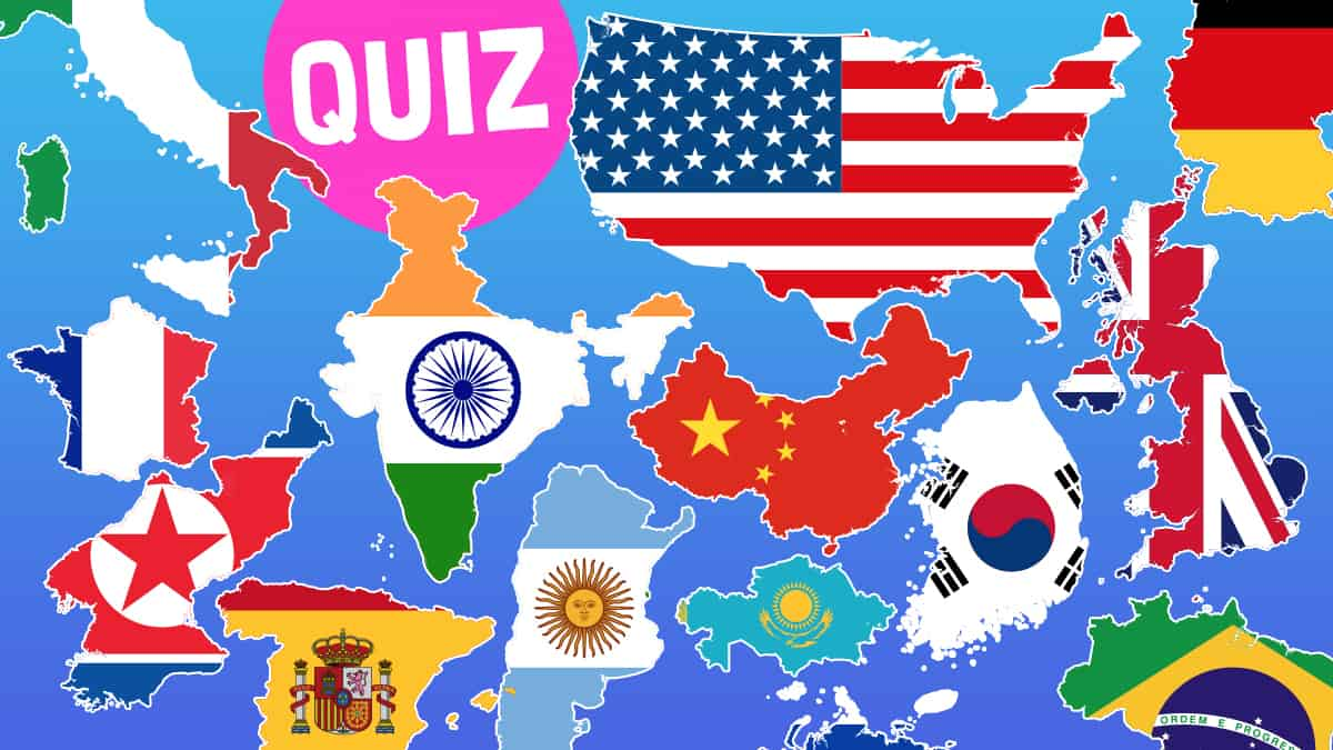 specialavsnitt ganska cool förboka Can you guess what these flags and countries of the world are ...