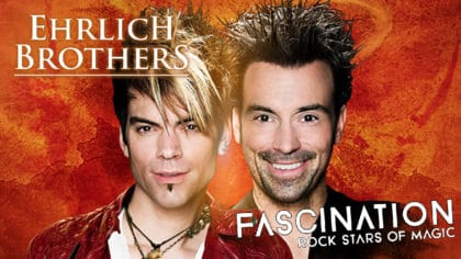 See the mind-blowing magic of the Ehrlich Brothers live at