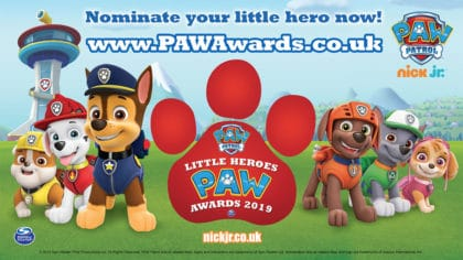 Nominate your little hero for the PAW Awards! - Fun Kids ...