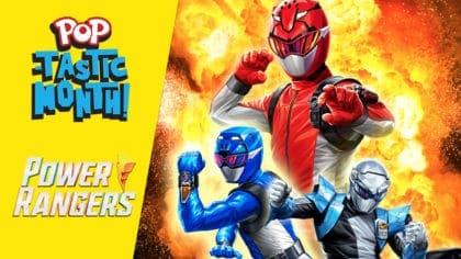 Watch new episodes of Power Rangers Beast Morphers on POP TV